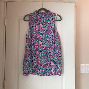 Colourful mini dress!